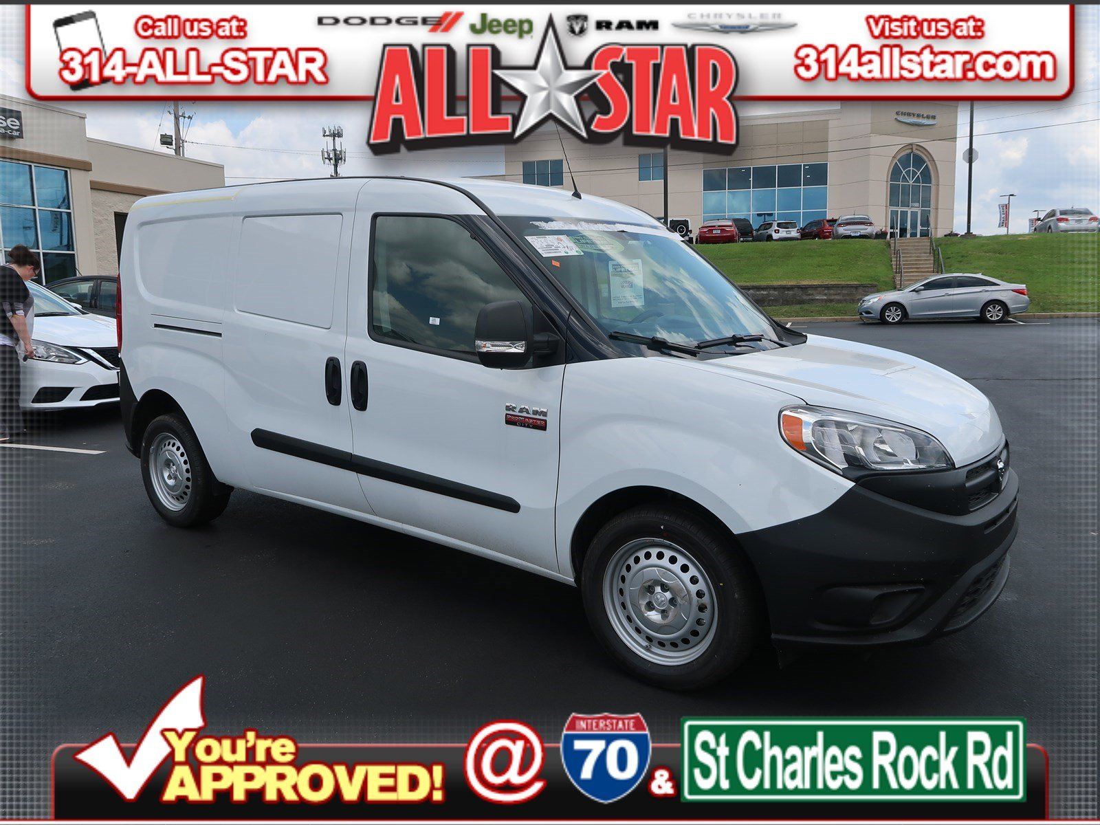 New 2018 RAM ProMaster City -X9