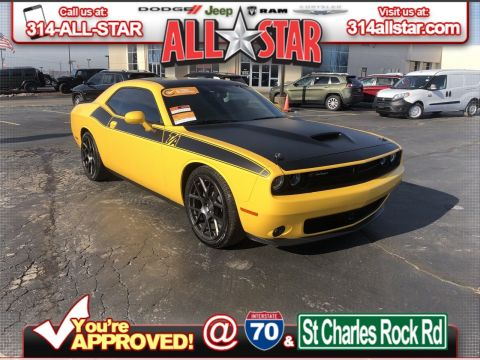 Certified Pre-Owned 2017 Dodge Challenger T/A Plus
