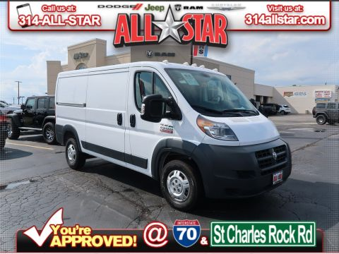 Pre-Owned 2018 Ram ProMaster Cargo Van 1500 Low Roof 136 WB